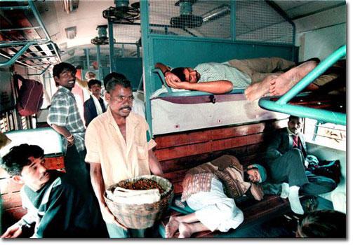Indian train and panchayat